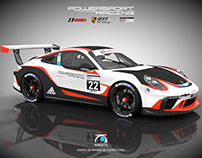 2017 IMSA Porsche 911 GT3 Cup PowerSport Racing USA