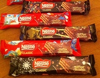 Nestle Classic Wafer Packages