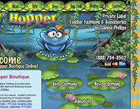 Animated Childrens Website Home Page