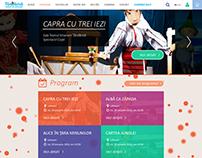 Teatrul Tandarica - website design