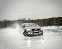 Volvo on ice