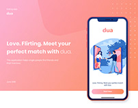 DUA | Mobile app | Dating