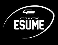 Coach Esume | Logotype