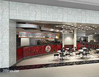 Airport Restaurant Diner Storefront