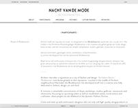 Web Design - Nacht van de Mode