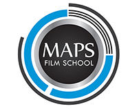 MAPS film school - logo design