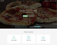 Wjabat Online Food Service Website