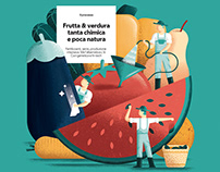 Editorial Illustrations - La Repubblica 2018 pt2
