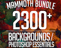 Mammoth Bundle – 2300 Backgrounds & Photoshop Essential