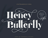 FREE | Honey Butterfly Beauty Typeface