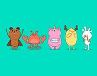 Cute Monsters #01
