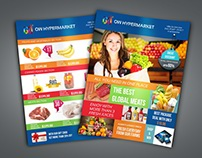 Supermarket / Product Flyer