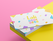 Lali Baby Kids - Visual Identity for Kids Store