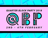 Quarter Block Party Festival Design