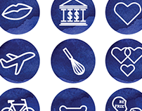 Icons for Loose Ends dot org