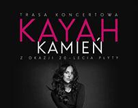 kayah - kamień anniversary poster + editorial