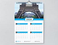 Wall Calender 2020