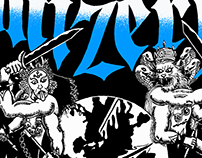 Mizery Merchandise Illustration