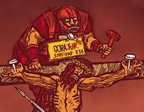 """El Cristo de los """"titiriteros"""""""