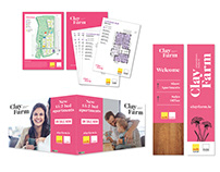 Property Brochures, Sitemaps, Signage, Press Ads