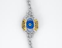 Θαλασσί Ματάκι - evil eye charm