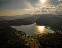 Slovak paradise aerial