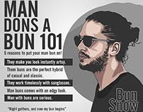 Why a man dons a bun 101