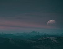/ˈmuːnˌlaɪt/ - moonlight