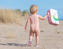Todler beach session {Kids Photography}