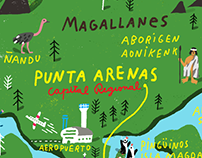 Magallanes Map