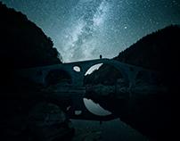 Night over Devil's bridge