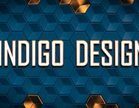 "Logo design for ""Indigo design"" studio"