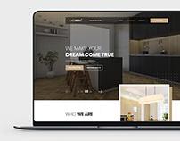 Kitchen Interior Studio - Website PSD template
