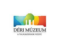 Déri Museum identity