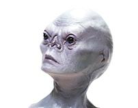 Alienígena Grey - busto