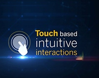 Touch Interactive Portfolio