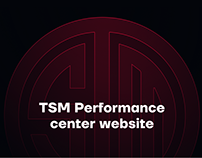 Team SoloMid - Performance center website
