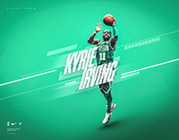 Nike Wallpaper | Kyrie Irving #11 | Boston Celtics