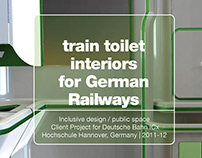 Train interiors for Deutsche Bahn / Universal Design