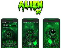 Alien 3D Theme