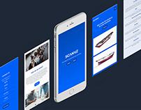 Scanve - identyfikacja wizualna i strona internetowa