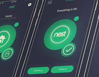 Nest App Redesign + Interaction Demos