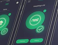 Nest App Redesign + Interaction Demos