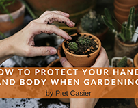 How to Protect Your Hands and Body When Gardening