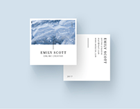 20+ Creative Square Business Cards You'll Want to Own