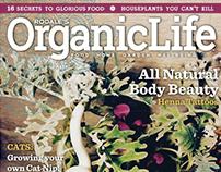 Organic Life Magazine Design