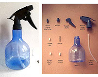 Water Spray Bottle : Project Assembly