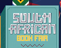 South African Book Fair Poster