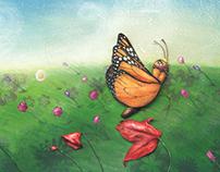 """""""El maravilloso viaje de la mariposa monarca"""""""