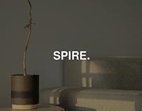 SPIRE - Website Concept